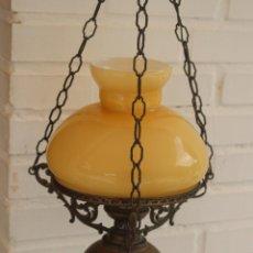 Antigüedades: LAMPARA TIPO QUINQUE. Lote 45659511