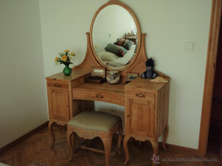 lote de muebles antiguos (comodas, espejos,sill - comprar ... - Muebles Antiguos