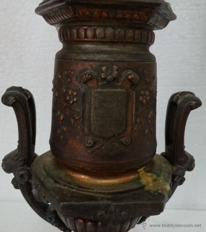 Antigüedades: PAREJA DE CANDELABROS DE CINCO LUCES SIGLO XIX- 202 - Foto 5 - 45672750