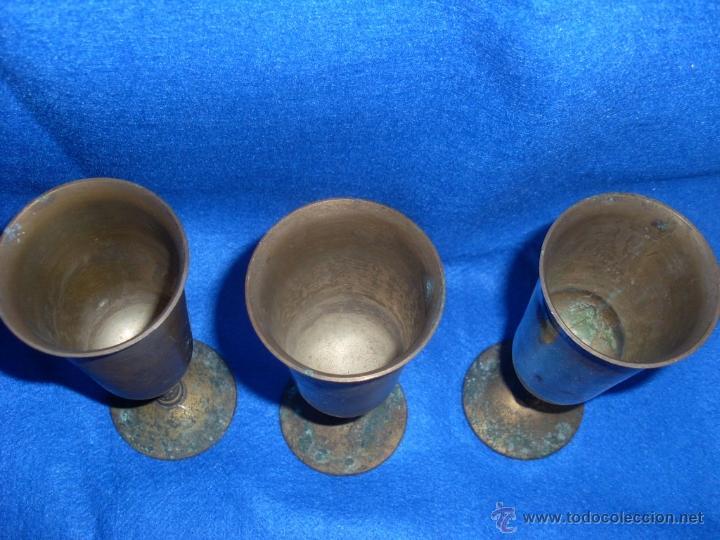 Antigüedades: Copas de metal - Foto 3 - 45680684