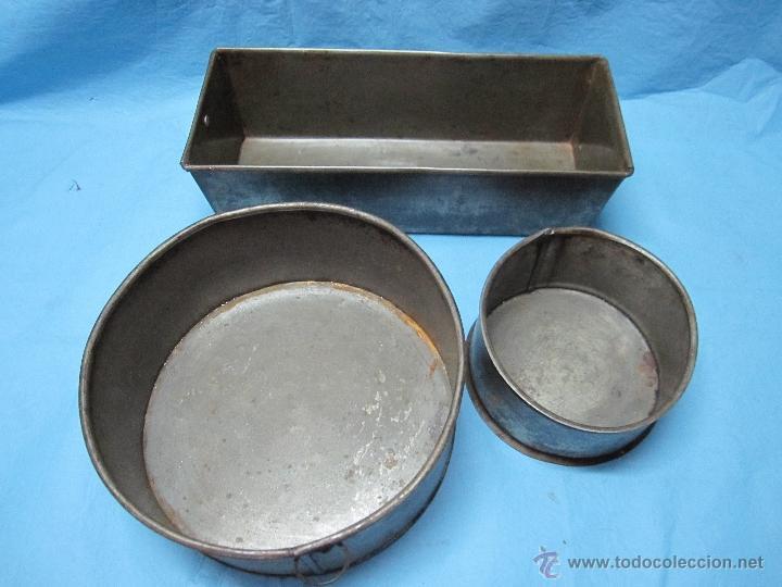 Antiguos recipientes para hacer dulces y bizcoc comprar for Utensilios del hogar