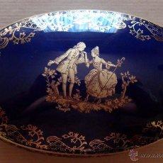 Antigüedades: ALHAJERO EN PORCELANA LIMOGES . Lote 45704976