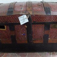 Antigüedades: BAÚL EN MADERA DE PINO SIGLO XX- 294. Lote 45732219
