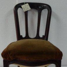 Antigüedades: SILLA EN MADERA DE CEREZO- 150. Lote 45732852