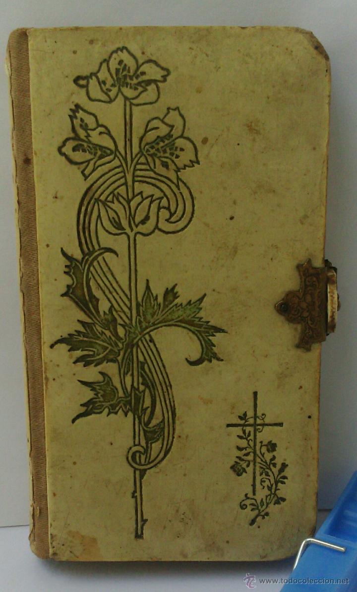 ANTIGUO LIBRO LITÚRGICO DE SANTA SEDE - OYEL DE PIEDAD - HERMANOS STEINBRENER - WINTERBERG (Antigüedades - Religiosas - Artículos Religiosos para Liturgias Antiguas)