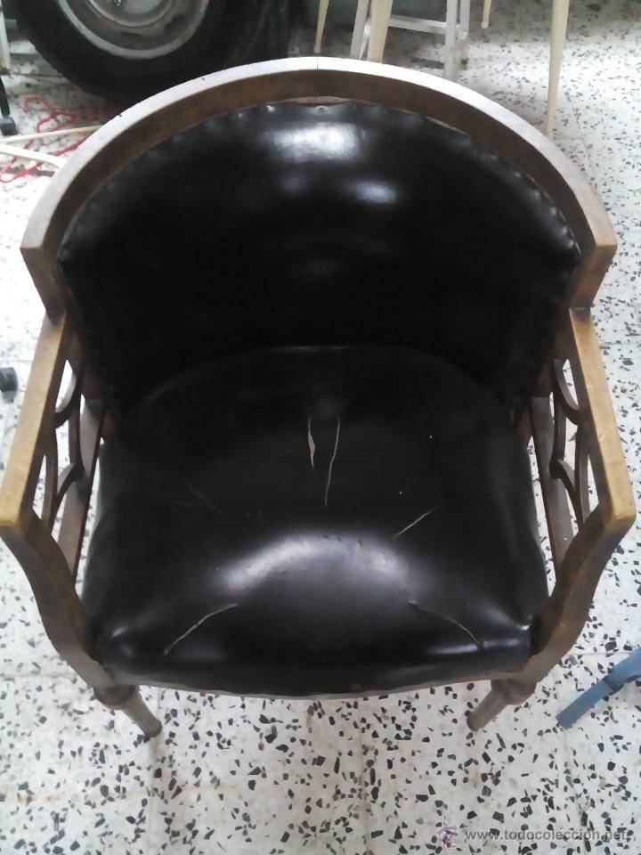 Sillon antiguo a restaurar comprar sillones antiguos en todocoleccion 45744426 - Sillones antiguos para restaurar ...