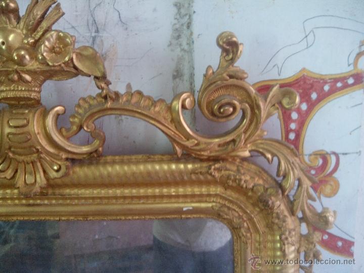 Antigüedades: espejo antiguo - Foto 4 - 45753573