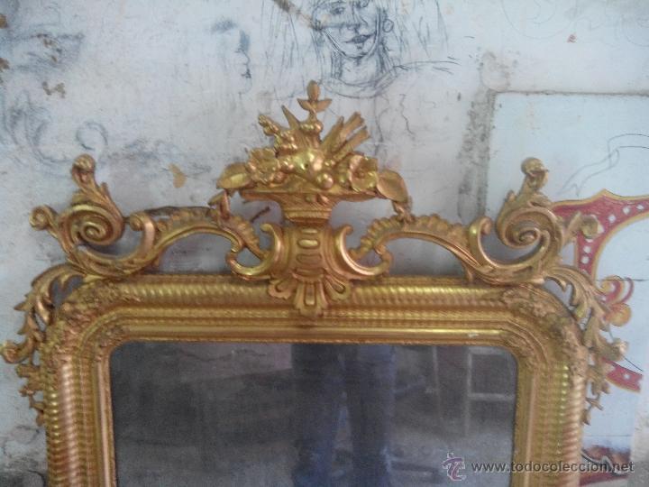 Antigüedades: espejo antiguo - Foto 5 - 45753573
