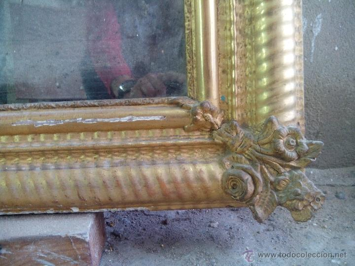 Antigüedades: espejo antiguo - Foto 6 - 45753573
