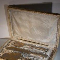 Antigüedades: ANTIGUO CUBIERTO DE ALPACA ALPACCA ART DECO. Lote 45763542
