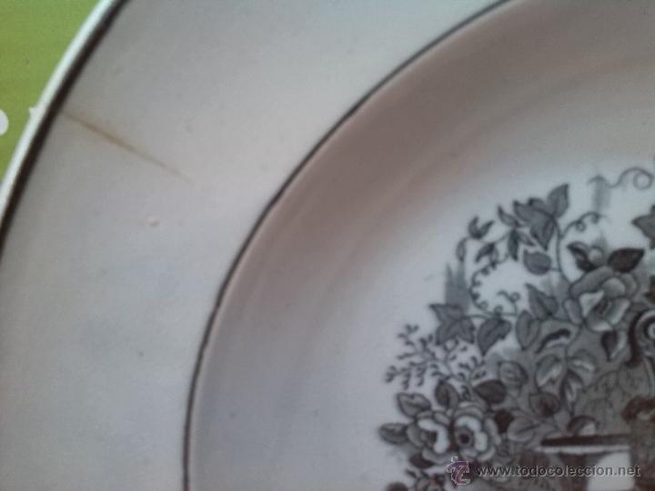 Antigüedades: antiguo plato de cartagena, jarrones europeos, sello tinta e inciso. - Foto 3 - 45764379
