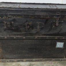 Antigüedades: BAÚL EN MADERA SIGLO XX - 288. Lote 45787003