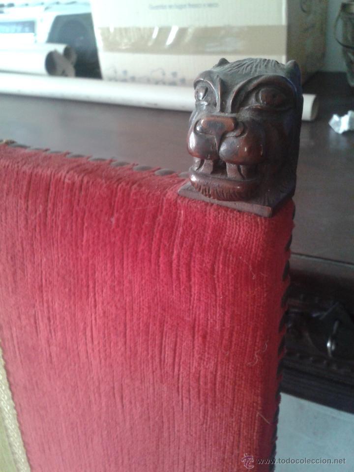 Antigüedades: ANTIGUA SILLA ESTILO IMPERIO CON BRAZOS - Foto 3 - 45705753