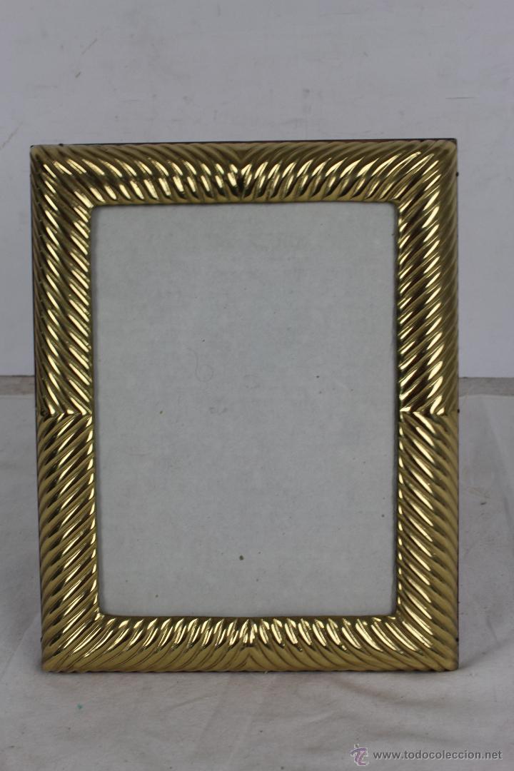 marco de fotos en madera y metal dorado - med. - Comprar Marcos ...