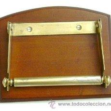 Antigüedades: ANTIGUO PORTA ROLLOS PARA PAPEL HIGIÉNICO. Lote 45795182