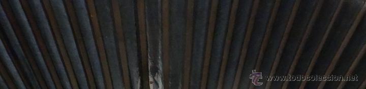 Antigüedades: ABANICO SIGLO XX EN PAPEL SEDA, 6000- 211 - Foto 10 - 45801383