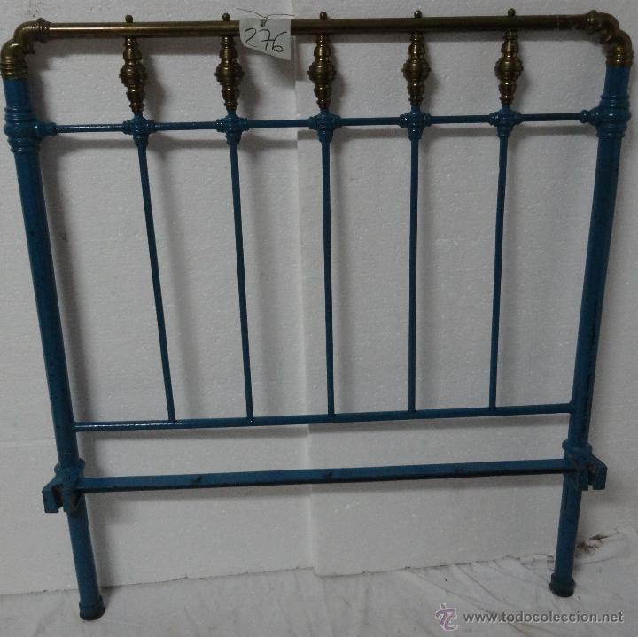Cama con cabecero y piecero en metal o hierro comprar - Camas antiguas de hierro ...