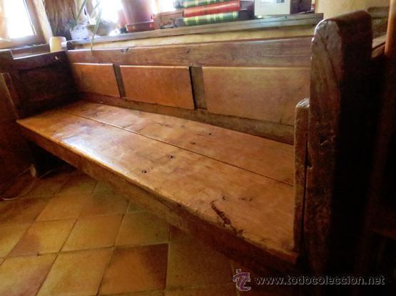 Esca o antiguo madera casta o gallego restaurad comprar for Muebles de segunda mano en galicia
