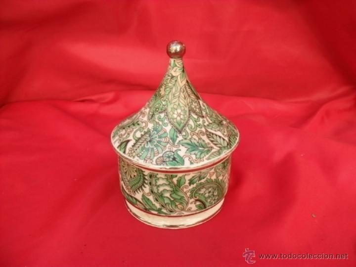 Antigüedades: antiguo tarro de farmacia,albarelo - Foto 3 - 45819122