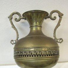 Antigüedades: ANTIGUO JARRÓN, GRANDE, 41CM DE ALTURA, MUY BONITO Y DECORATIVO.. Lote 45824321
