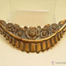 Antigüedades: PLACA / APLIQUE EN BRONCE ART DECO PARA DECORACIÓN DE MUEBLE. Lote 45824904