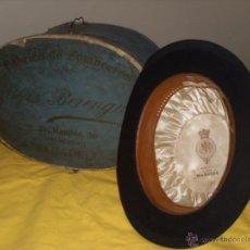 Antigüedades: BOMBÍN CON SU CAJA ORIGINAL. Lote 45843479