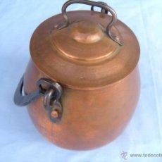 Antigüedades: OLLA DE COBRE. Lote 45851356