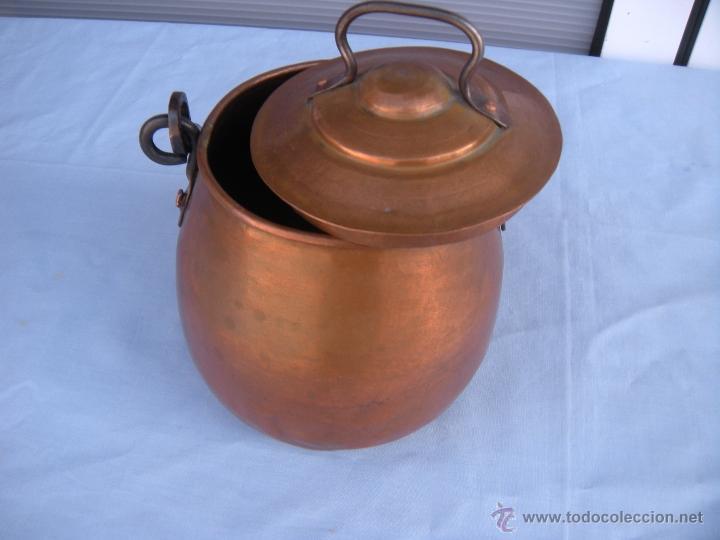 Antigüedades: OLLA DE COBRE - Foto 4 - 45851356