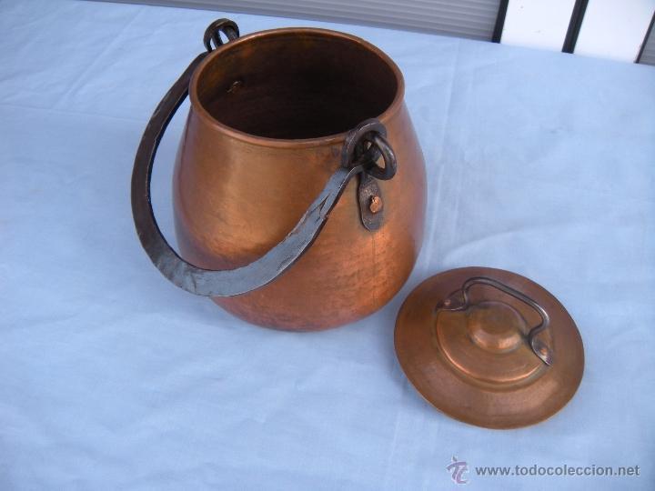 Antigüedades: OLLA DE COBRE - Foto 5 - 45851356