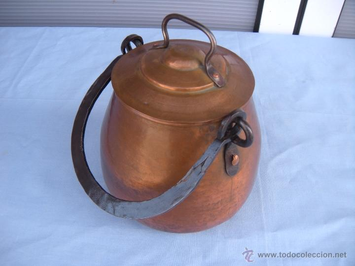 Antigüedades: OLLA DE COBRE - Foto 6 - 45851356