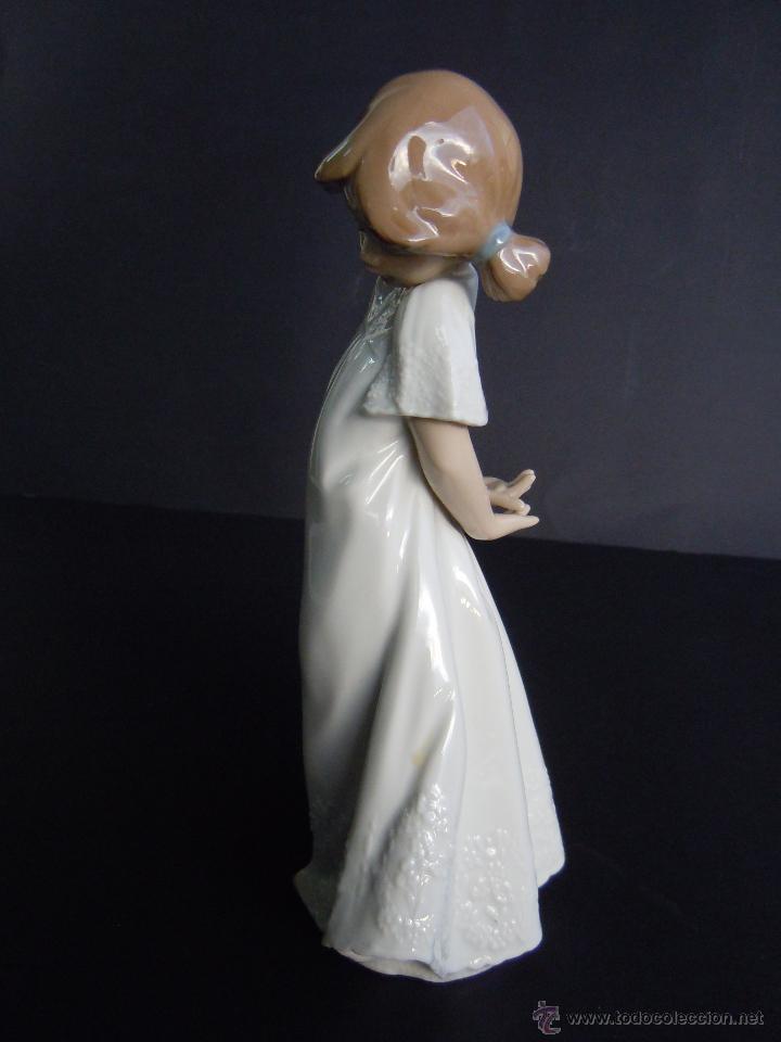 Antigüedades: FIGURA NIÑA RUBOROSA DE NAO - Foto 3 - 114304532