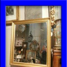 Antigüedades: BONITO ESPEJO DIRECTORIO CON SU LUNA ORIGINAL HACIENDO AGUAS. Lote 33447903