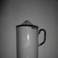 Antigüedades: LAVATIVA ESMALTADA. Lote 45874202