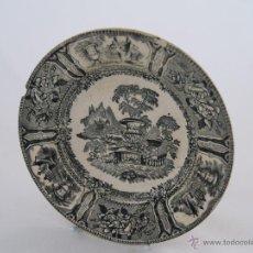 Antigüedades: PLATO HONDO DE CERÁMICA DE SARGADELOS. Lote 45879323