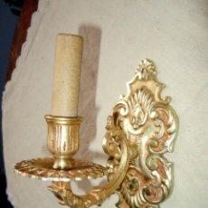 Antigüedades: APLIQUE DE PIANO DE BRONCE DORADO ORMOLU. FINALES SIGLO XIX. Lote 45889431