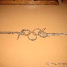 Antigüedades: CADENA PARA CALENTAR LAS OLLAS EN LA CHIMENEA.. Lote 45891614