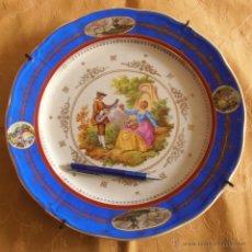 Antigüedades: PLATO SAN CLAUDIO 34,5 CM DE DIAMETRO. Lote 45910861