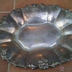 Antigüedades: BANDEJA DE ALPACA. Lote 45912973