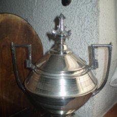 Antigüedades: AZUCARERO PLATA MENESES. Lote 45934516