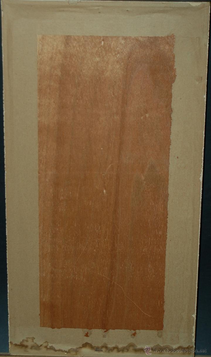Antigüedades: PRECIOSA BANDA RELIGIOSA BORDADA SOBRE SEDA CON RIBETES DORADOS. FECHADA DEL AÑO 1900 - Foto 10 - 45942425