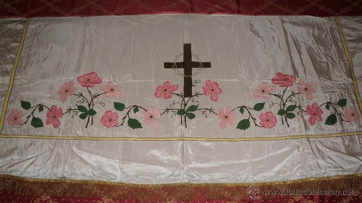 FRONTAL DE ALTAR (Antigüedades - Religiosas - Ornamentos Antiguos)