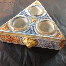 Antigüedades: ESPECIERO DE CERAMICA. Lote 45945600
