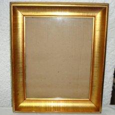 Antigüedades: ANTIGUO MARCO DORADO.. Lote 45959000