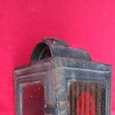 Antigüedades: ANTIGUO FAROL DE CARRO. Lote 45963526