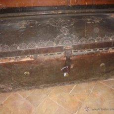 Antigüedades: BAÚL DEL SXVIII. Lote 45988937