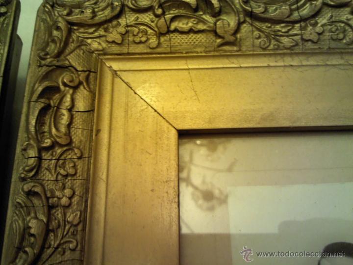 Antigüedades: MARCOS CON FOTO MUY ANTIGUOS - Foto 2 - 46007164
