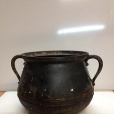 Antigüedades: CAZUELA HIERRO FUNDIDO. Lote 46007965