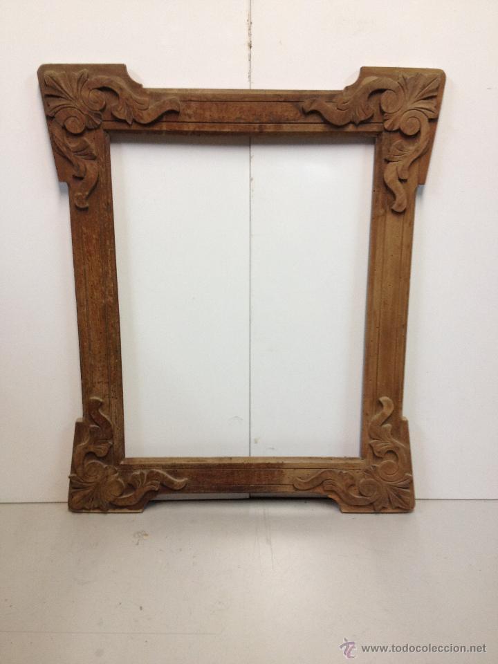 antiguo marco de madera para espejo - Comprar Marcos Antiguos de ...