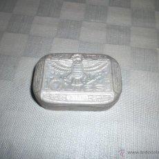 Antigüedades: CAJA ANTIGUA DE METAL FRANCESA. Lote 46009608