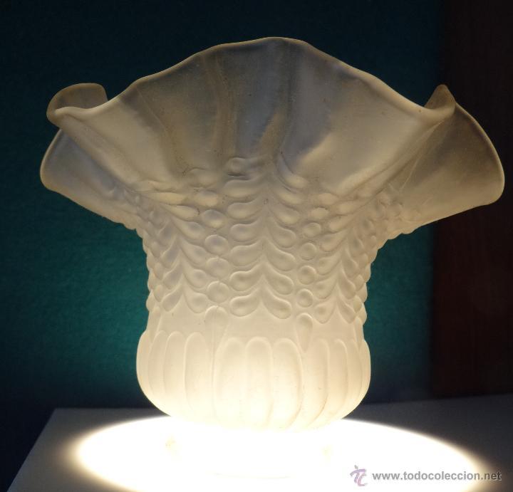 Antigüedades: TULIPA ESTILO MODERNISTA - LOTE DE CUATRO UNIDADES - - Foto 3 - 46014841